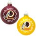 NFL Home and Away Glass Ornament Set
