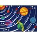 <strong>Fun Rugs</strong> Fun Time Solar System Kids Rug