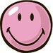 Smiley World Pink Smiley Kids Rug