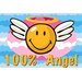 Smiley World Smiley Angel Kids Rug