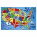 Fun Rugs Travel Fun Map Rug