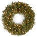 "<strong>Wispy Willow 36"" Pre-Lit Wreath</strong> by National Tree Co."