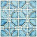 <strong>EliteTile</strong> Moonlight  Random Sized Porcelain Mosaic in Diva Blue