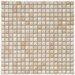 "<strong>Arcadia 9/16"" x 9/16"" Glazed Porcelain Mosaic in Perla Bone</strong> by EliteTile"