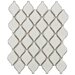 "Arabesque 9.88"" x 11.13"" Porcelain Mosaic Tile in Selene"