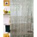 Carnation Home Fashions Geo 3 D Vinyl Shower Curtain