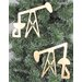 <strong>Oil Pump Jack Ornament (Set of 2)</strong> by Metrotex Designs