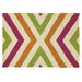 <strong>Fuchsia Chevron Rug</strong> by Company C