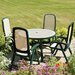 <strong>Toscana 5 Piece Round Ravenna Dining Set with Delta Chair</strong> by Nardi