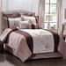 <strong>Monroe</strong> Regal Vine Comforter Set with 4 Bonus Pieces