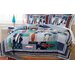 <strong>My World</strong> Surfing USA 3 Piece Quilt Set
