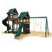 <strong>Kidwise</strong> Congo Monkey Green and Cedar Playsystem 3