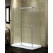 <strong>Semi-Frameless Rectangular Shower Enclosure with Low-Profile Base</strong> by Aston