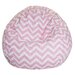 <strong>Chevron Bean Bag Chair</strong> by Majestic Home Products