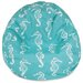 Majestic Home Products Seahorse Bean Bag Chair