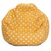 Majestic Home Products Ikat Dot Bean Bag Chair