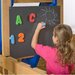 <strong>Playstar Inc.</strong> Magnetic 2' x 2' Chalkboard