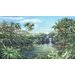 <strong>Portfolio II Tropical Lagoon with Palm Trees Wall Mural</strong> by York Wallcoverings