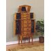 Powell Furniture Woodland Jewelry Armoire with Mirror