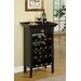 Powell Furniture Rub Through 16 Bottle Wine Cabinet