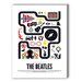 <strong>The Beatles Graphic Art on Canvas</strong> by Americanflat