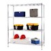 "<strong>Excel Hardware</strong> All Purpose Wide Rack 72"" H 3 Shelf Shelving Unit"