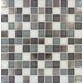 "<strong>MS International</strong> Diamond Cove 1"" x 1"" Glass and Metal Blend Mesh Mounted Mosaic Tile in Multi"