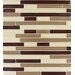 <strong>MS International</strong> Sedona Random Sized Glass Blend Interlocking Mesh Mounted Mosaic Tile in Beige and Brown