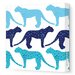 <strong>Animals Cheetah Stretched Canvas Art</strong> by Avalisa