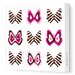 <strong>Avalisa</strong> Imaginations Butterfly Group 1 Stretched Canvas Art
