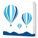 Avalisa Things That Go Hot Air Balloons Stretched Canvas Art