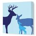 <strong>Animals Deer Stretched Canvas Art</strong> by Avalisa