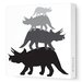 <strong>Avalisa</strong> Animals Tri Tower Stretched Canvas Art