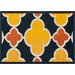 <strong>Terrace Navy/Lemon Outdoor Rug</strong> by Loloi Rugs
