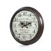 "<strong>Oversized 28"" Bordeaux Vintage Style Wall Clock</strong> by Aspire"
