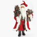 Traditional Santa Figurine with Teddy