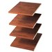 <strong>Closet Organizers Shelves (Set of 4)</strong> by Easy Track
