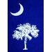 Palmetto Tree Designed Beach Towel