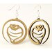 <strong>Cobra Snake Earrings</strong> by Green Tree Jewelry