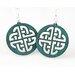 Green Tree Jewelry Celtic Sign Earrings