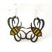 Bumble Bees Earrings