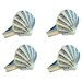 Rennie & Rose Design Group Coastal Shell Napkin Rings