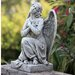Kneeling Praying Angel Statue