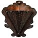 Radiance Tribal Flower 2 Light Wall Sconce