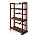 Pine Solid Wood 3-Tier Bookshelf