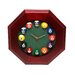 <strong>Game Room Pool Quartz Wall Clock</strong> by Trademark Global