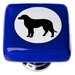 """<strong>New Vintage 1.25"""" Cameo Lab Dog Square Knob</strong> by Sietto"""