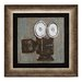 Woodland Imports Vintage Camera Themed Framed Painting Print
