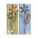 <strong>Lovely 2 Piece Floral Themed Wall Décor Set</strong> by Woodland Imports