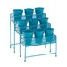 <strong>Metal 3 Tier Rectangular Plant Stand Pedestals</strong> by Woodland Imports